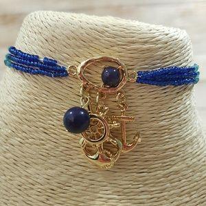 Jewelry - 💎BOGO NEW Women's Stretch Nautical Bracelet